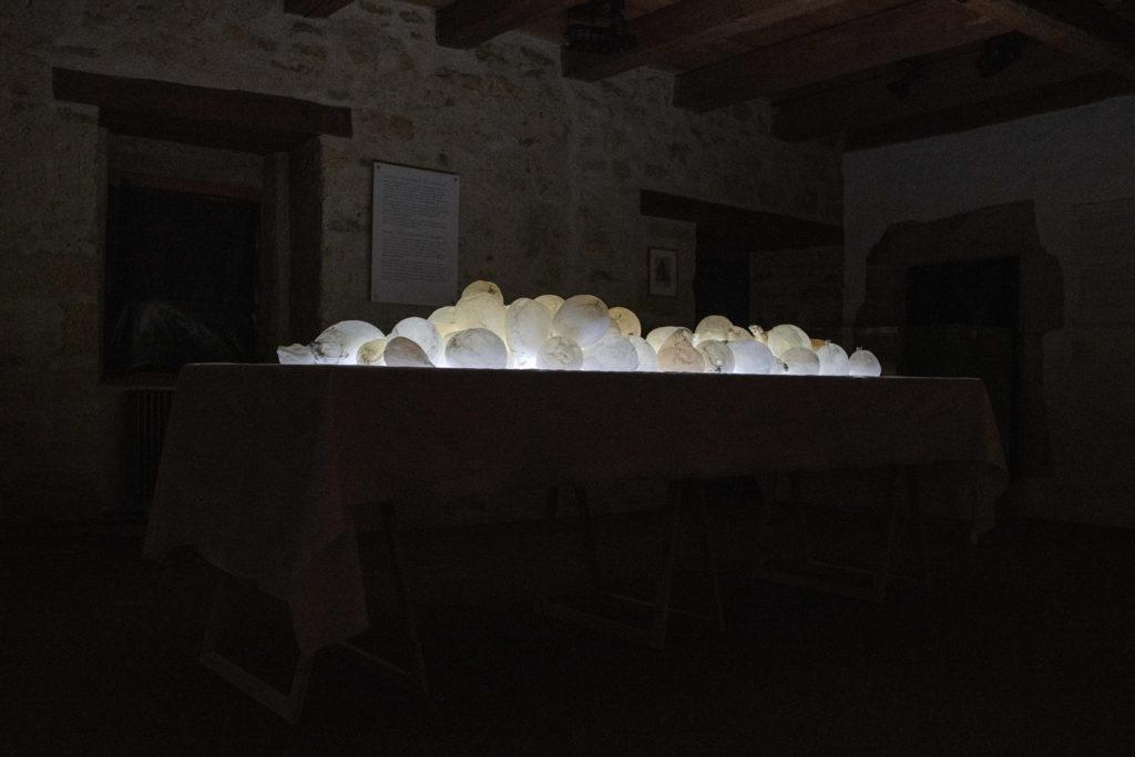Hallali, Balade des lumières de Morat, 2021, Musée de Morat © Jean-Paul Guinnard