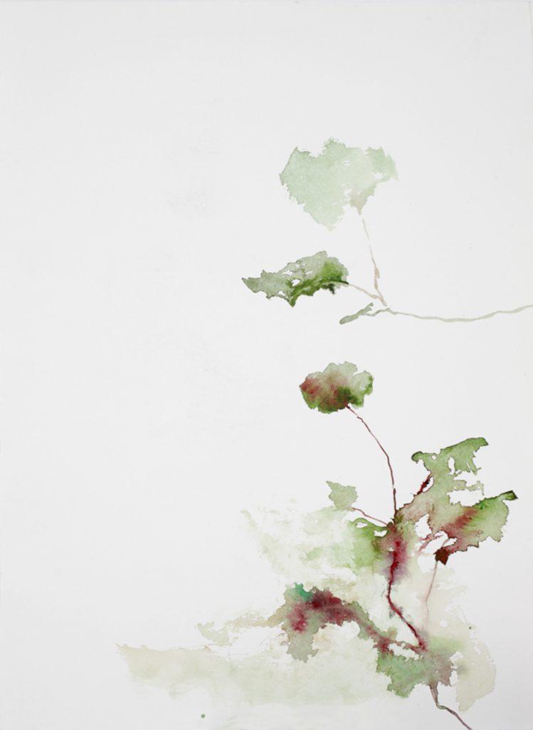Sans titre, aquarelle sur papier, 53×40 cm, 2015