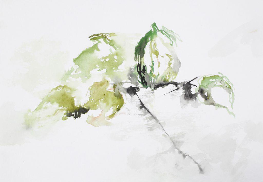 Sans titre, aquarelle sur papier, 30×40 cm, 2015