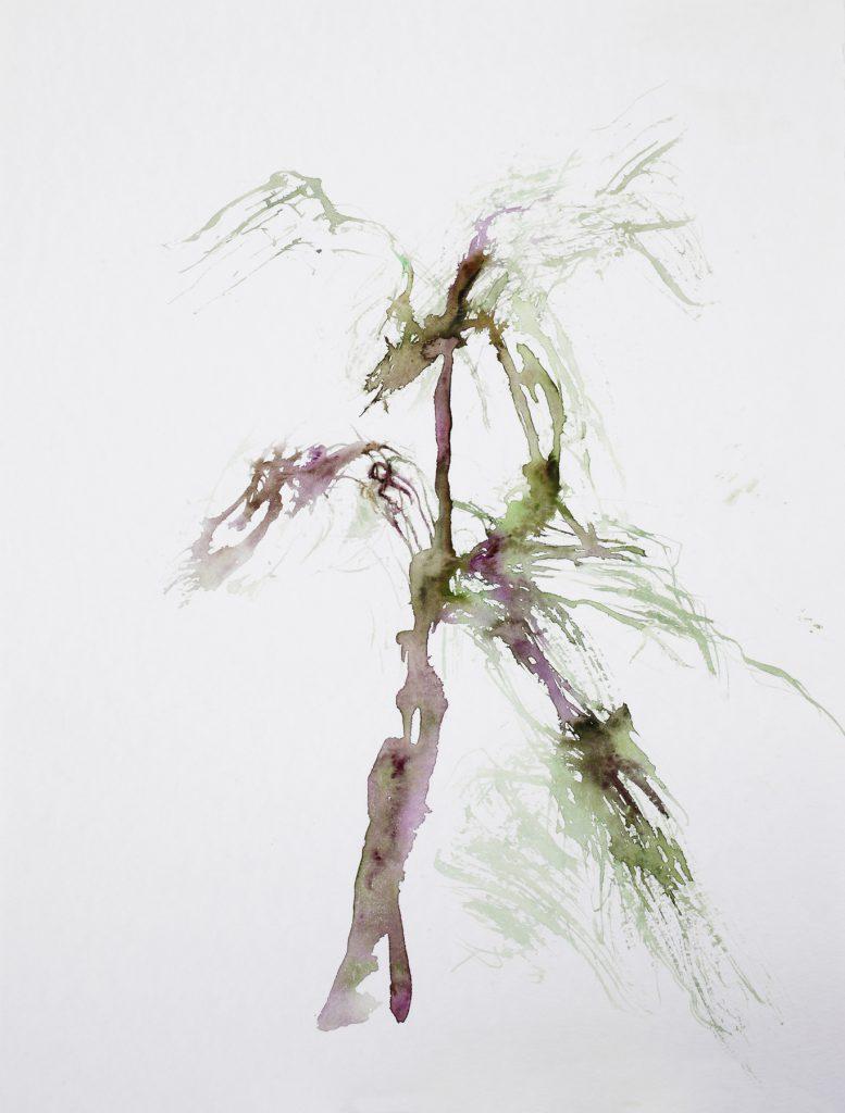 Sans titre, aquarelle sur papier, 40×30 cm, 2015