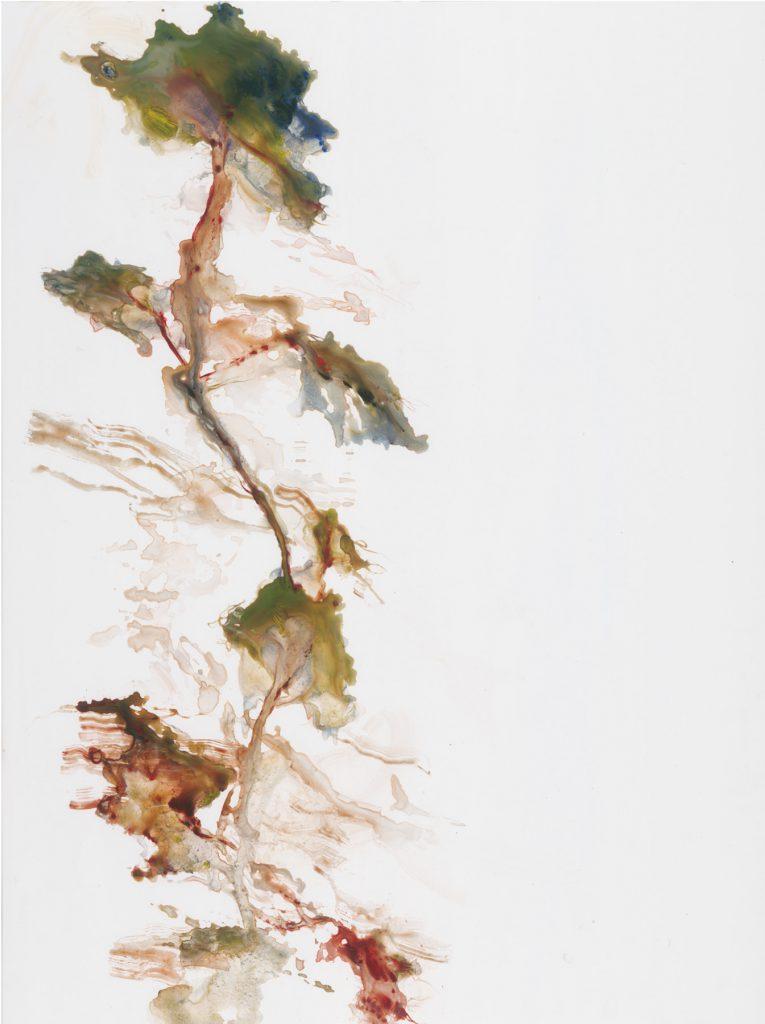 Sans titre, acrylique sous verre, 80×60 cm, 2016
