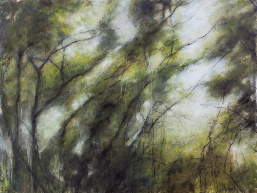 Sans titre, huile sur toile, 120×160 cm, 2016